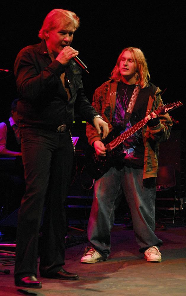 Concert Johnny Logan & Band at Vicar Street, Dublin, Ireland 2007