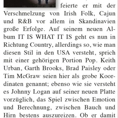 Good Times Magazine | It Is What It Is | Review