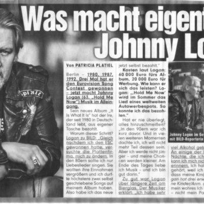 """""""Was macht eigentlich … Johnny Logan?"""""""