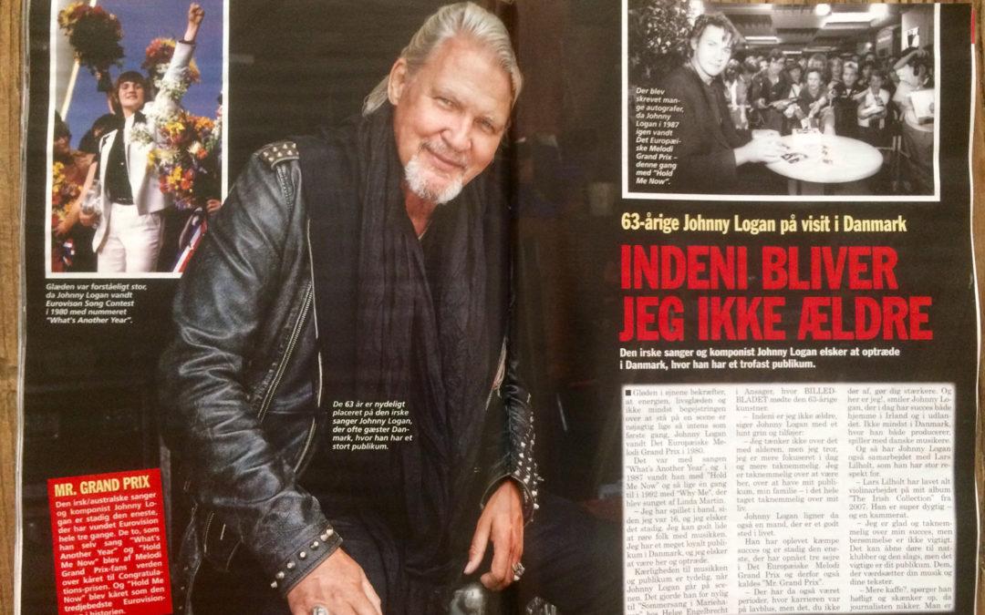 Johnny Logan glæder sine danske fans i Mariehaven