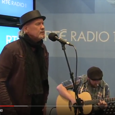"Johnny Logan performing ""Forever And A Day"" at RTE Radio Ireland"