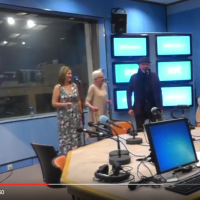 "Johnny Logan performing ""Piece of my heart"" at RTE Radio Ireland"