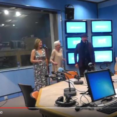 "Johnny Logan performing ""Piece of my heart"" at RTE Radio Ireland"