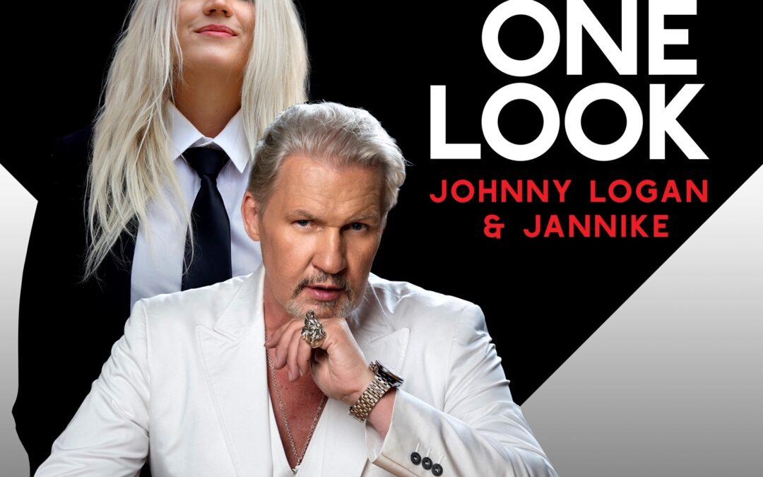 JOHNNY LOGAN and JANNIKE drop a duet